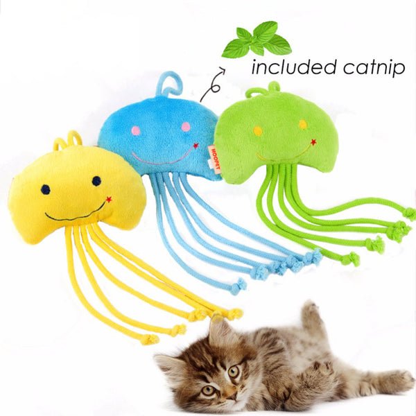 Original Jellyfish Catnip Toy