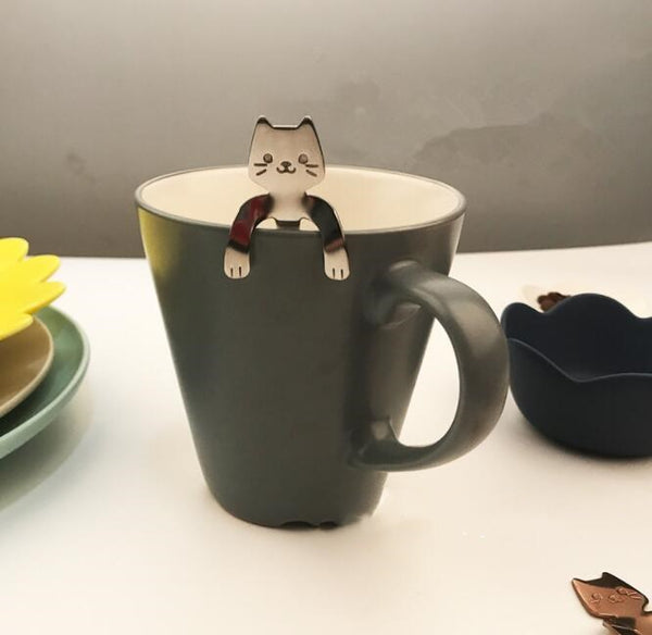 Cute Cat Coffee & Tea Spoons