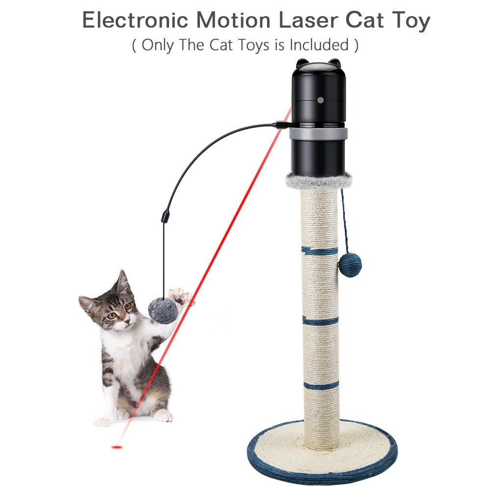 Automatic Rotating Cat Teaser Laser Toys