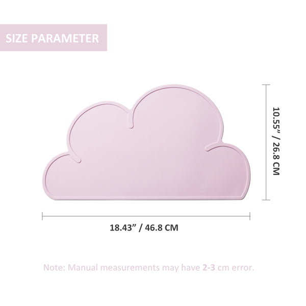 Cute Cloud Silicone Feeding Place Mat