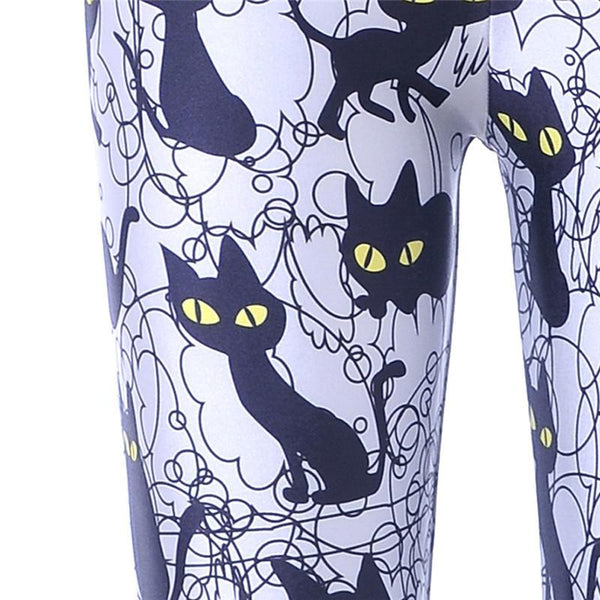 Black Cats Leggings