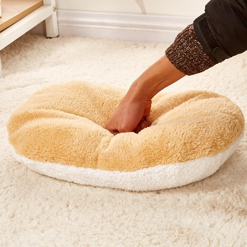 Cozy Cat Hamburger Bed Thepurrshop