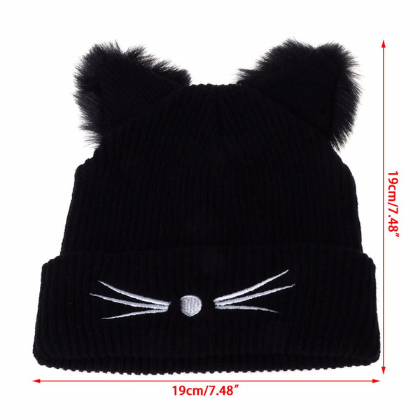 Cute Cat Ear Beanie Hat