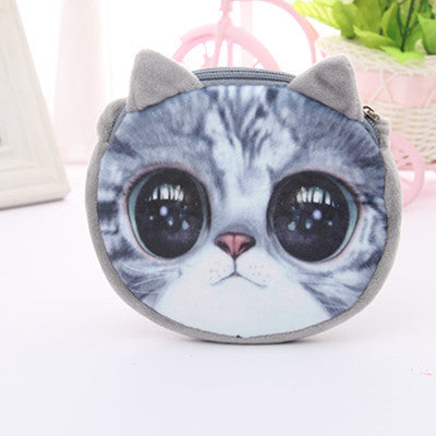 Cute 3D Cat Printed Small Handbag Satchel