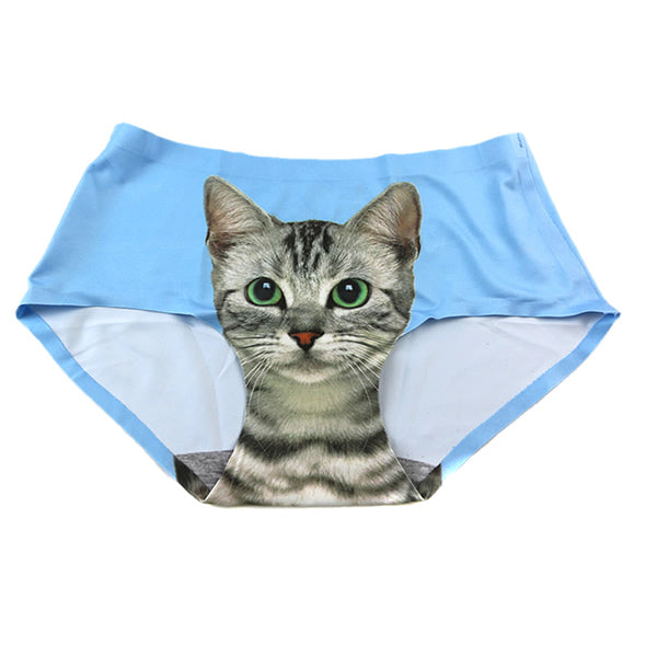 Fun Cat Face Underwear Panties