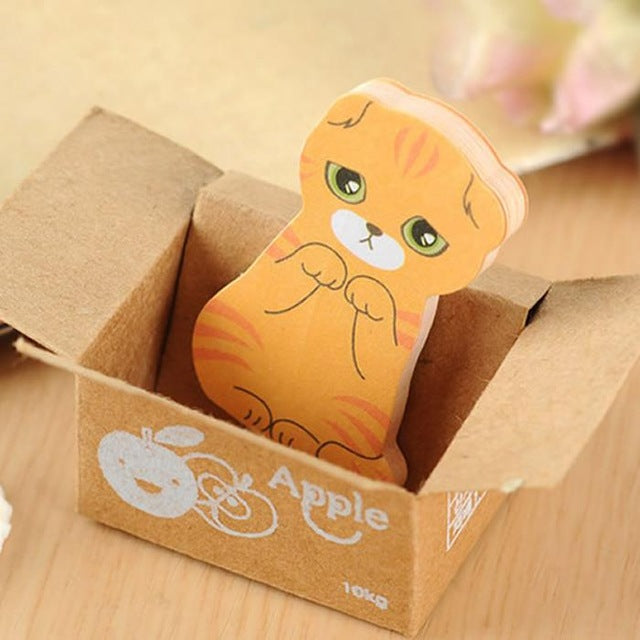Cat Scrap Booking Sticky Post It Notes