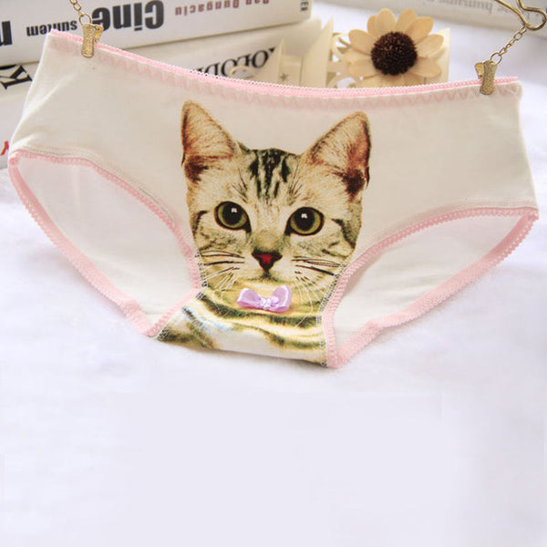3D Cotton Cat Underwear