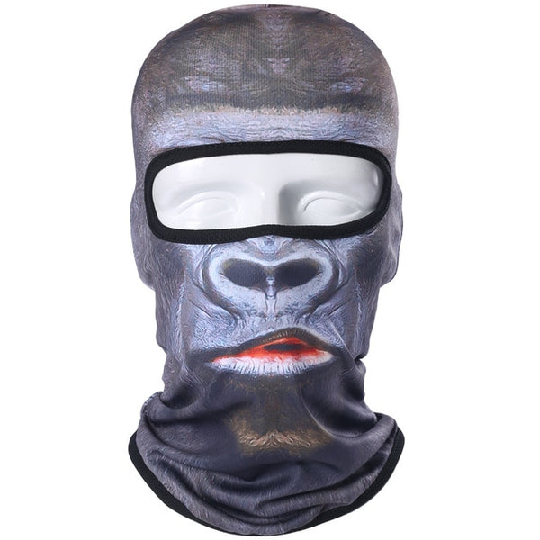 Fascinating 3D Animal Appearance Balaclava