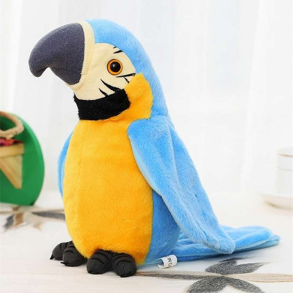 Cute Repeating Talking Plush Bird With Flapping Wings