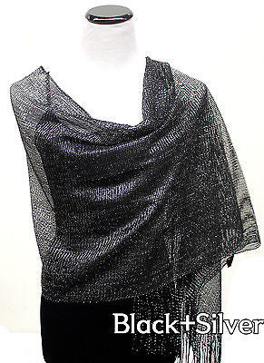 Fashion Glitter Sparkle Sequin Style Shawl Wedding Party Scarf  Wrap Skirt Belt
