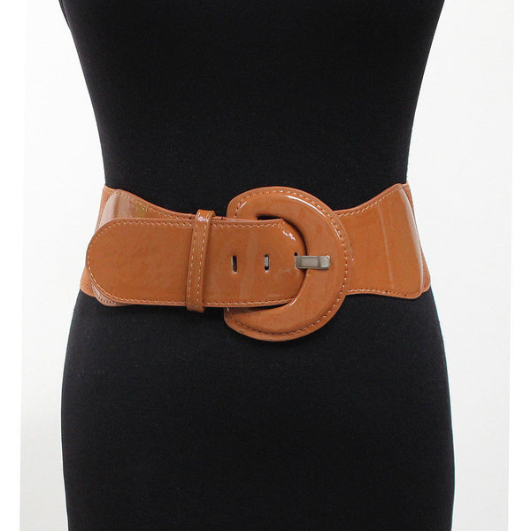 Women Fashion Classy Wide Cinch Elastic Stretch High Waist Hip Belt S M L XL