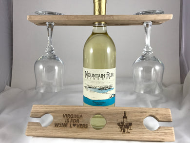 Wine Caddy-Poplar