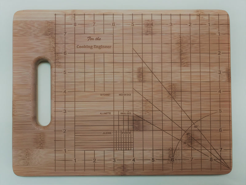 "Cutting Board-Rectangle-11.5"" x 8.75""-Engineer-Bamboo"