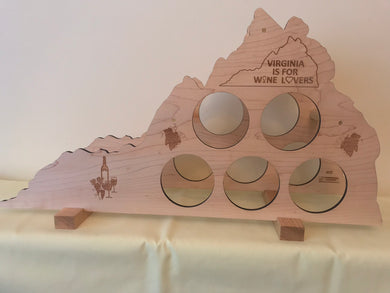 Virginia Wine Rack - Maple