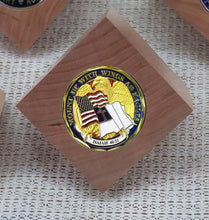 T-Cube Challenge Coin Holder