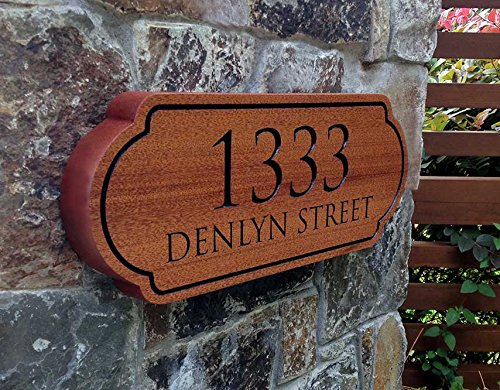 Address Only Sign