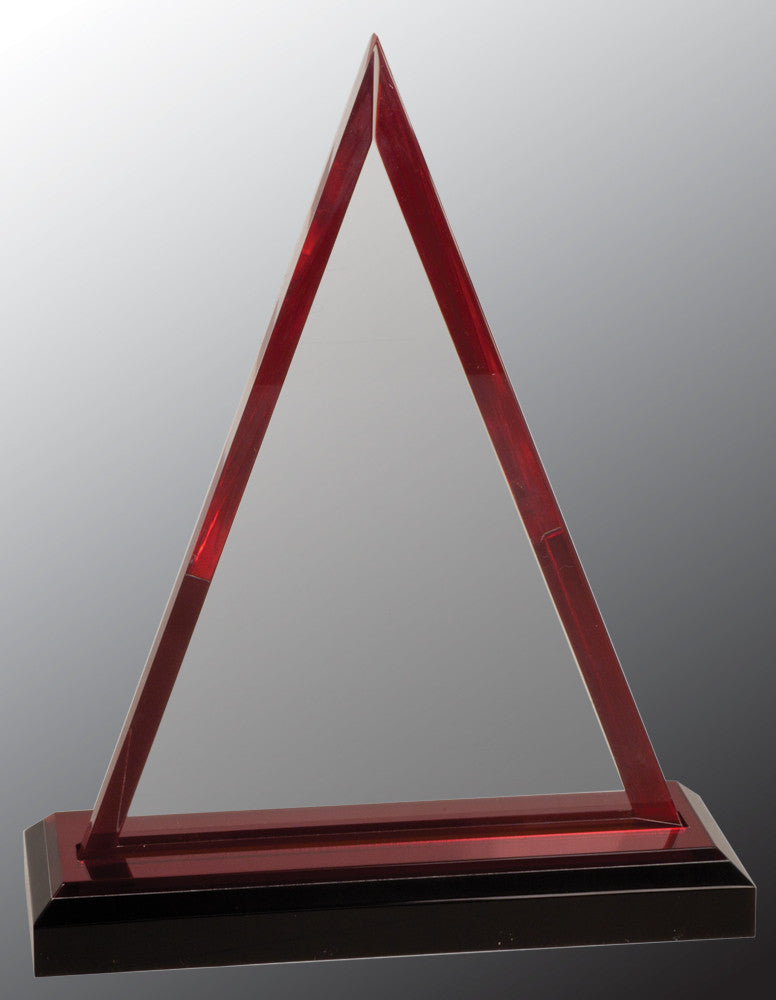 Acrylic Award-Triangle-7 3/4