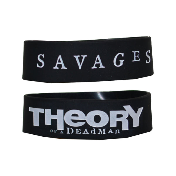 Savages Rubber Bracelet