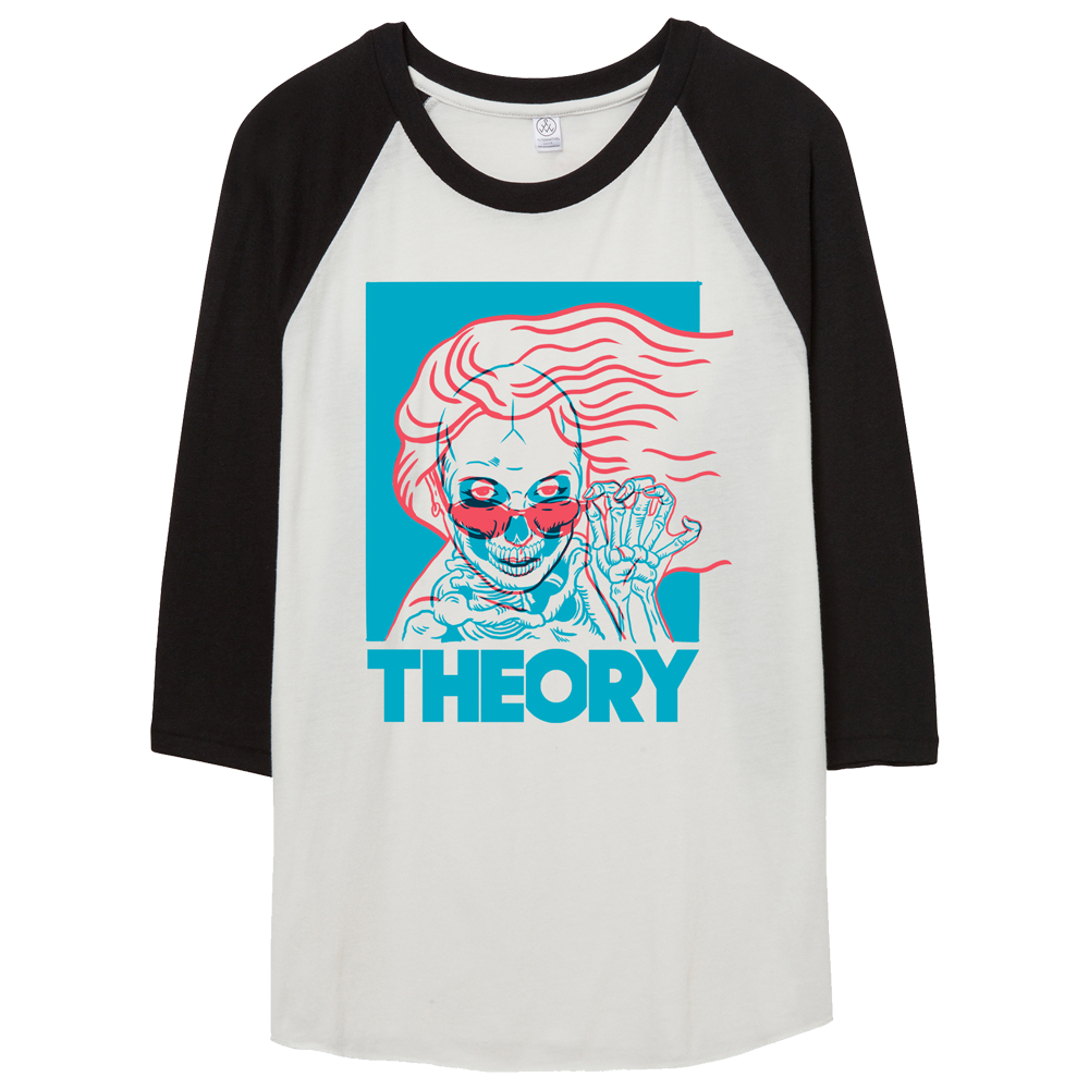 X-Ray Girl Raglan