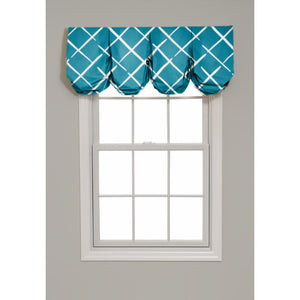 Cove End Pleated Balloon Valance - Revibe Designs