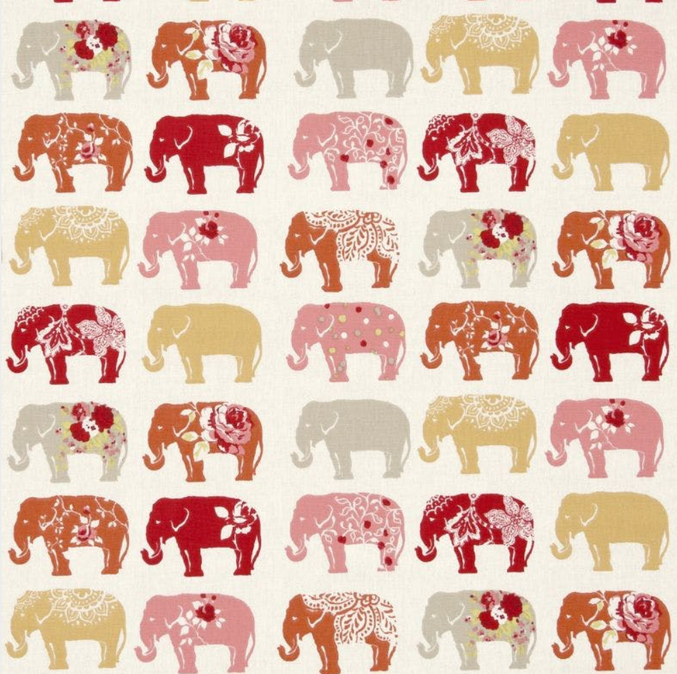 Elephants Fabric
