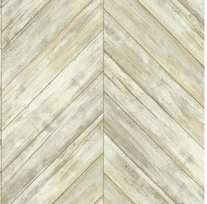 Herringbone  Wood Boards Wallpaper