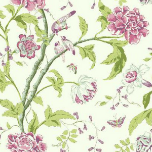 Teahouse Floral Wallpaper
