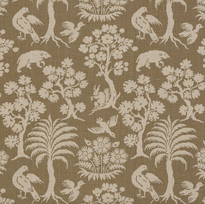 Woodland Silhouette Fabric