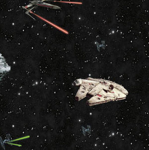 Star Wars Classic Ships Wallpaper