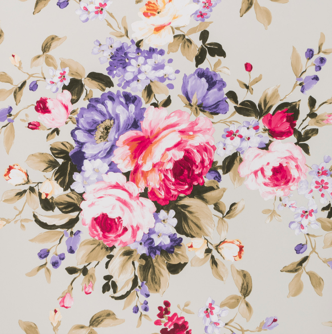 Floral bouquet wallpaper urban american dry goods co floral bouquet wallpaper izmirmasajfo