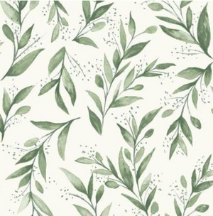 Magnolia Home Olive Branch Wallpaper