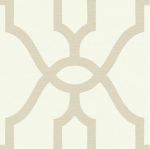 Magnolia Home Woven Trellis Wallpaper