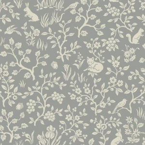 Magnolia Home Fox and Hare Wallpaper