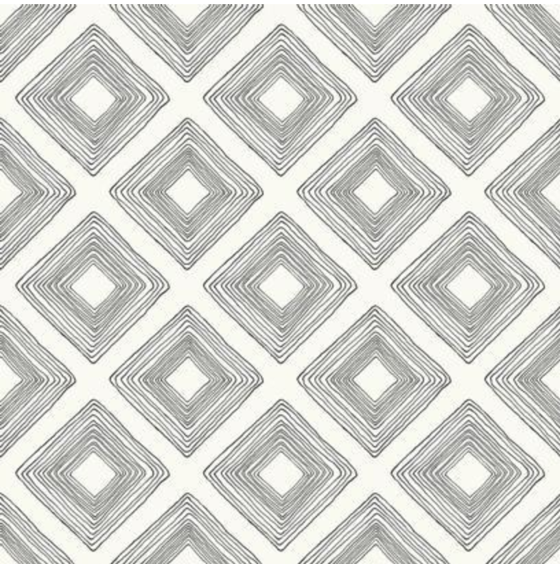 Magnolia Home Diamond Sketch Wallpaper