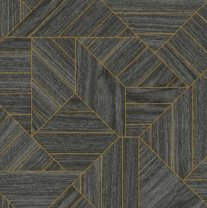 Wood Geometric Wallpaper