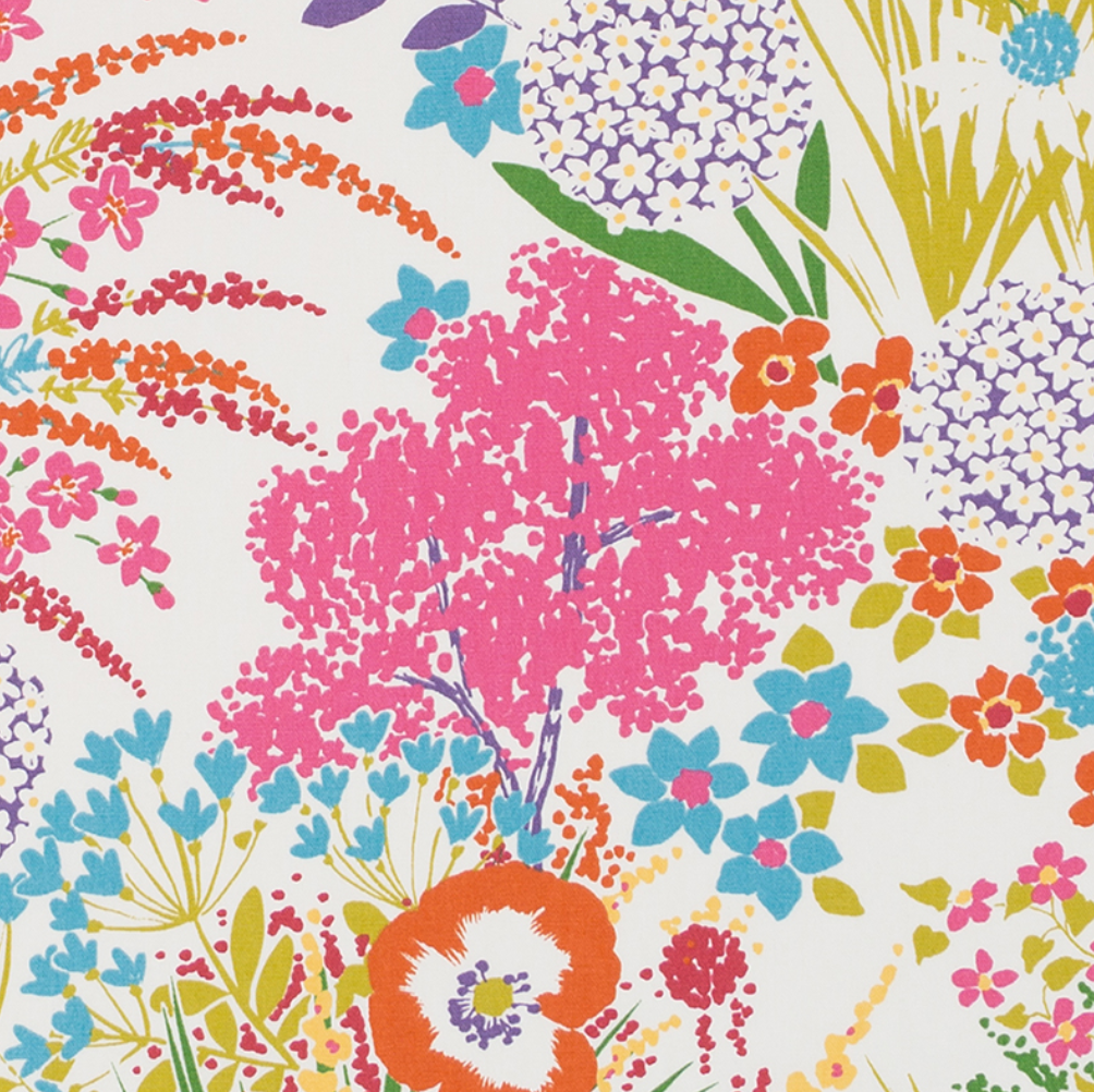 Sunset Key Floral Fabric