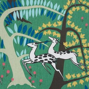 Antelopes Fabric