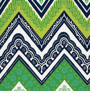 Tangier Frame Print Fabric