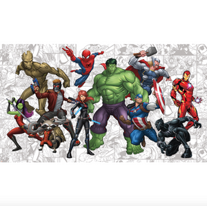 Marvel Hero's Mural