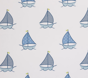 Sailboats Fabric