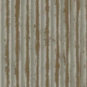 Weathered Metal Wallpaper