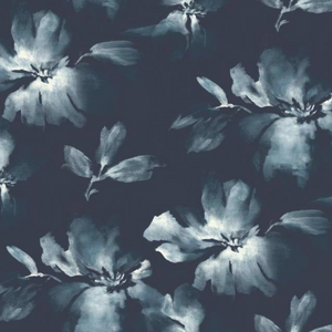 Midnight Blooms Wallpaper