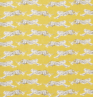 Leaping Leapords Fabric