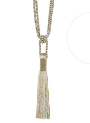 Tika Tassels Tie Backs
