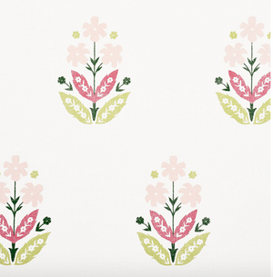 Floweret PaperWeave Wallpaper