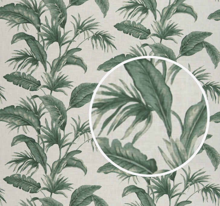 Fronds Stripe Fabric