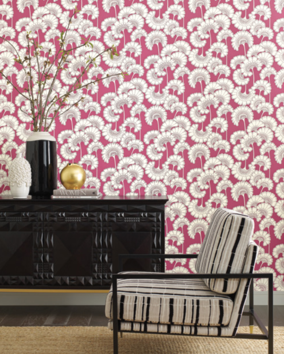 Japanese Floral Wallpaper Urban American Dry Goods Co