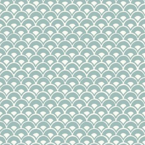 Magnolia Home Stacked Scallops Wallpaper