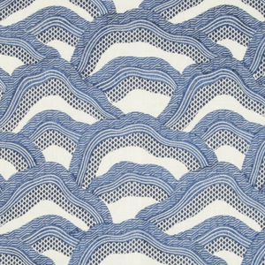 Les Rizieres Embroidered Fabric