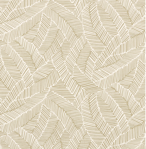 Abstract Leaf Fabric